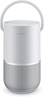 Bose Portable Smart Speaker, water-resistant design with Spacious 360° Sound, Bluetooth, Wi-Fi and Airplay 2 - Luxe Silver