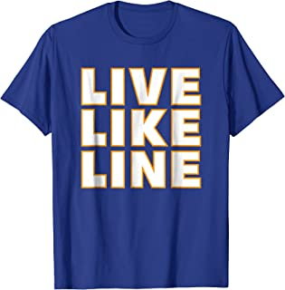 Live Like Line Volleyball Support T-Shirt