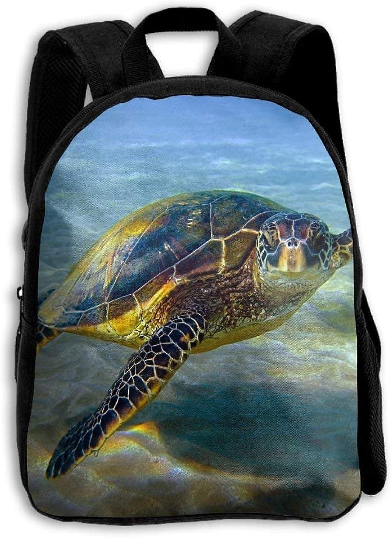 Grün Grün Grün Sea Turtle Outdoor Shoulders Bag Fabric Backpack Multipurpose Daypacks for Kids B07P1WY5CR  Verbraucher zuerst b81635