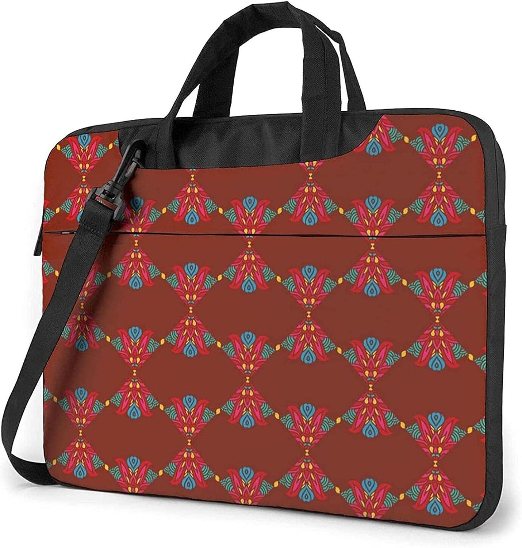 Epushow Bohemia Sales for sale 11 OFFicial site Laptop Bag 14 B Inch Messenger Shoulder Strap
