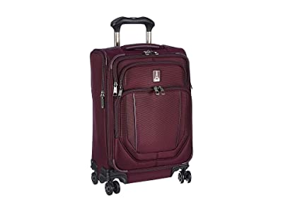 Travelpro 21.5 Crew Versapack Global Carry-On Expandable Spinner (Perfect Plum) Luggage