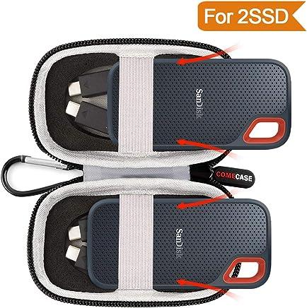 Custodia rigida Fits SanDisk 500GB/250GB/1TB/2Tb Extreme Portable SSD–SDSSDE60–500g-g25–contiene 2esterna SSD - Trova i prezzi più bassi
