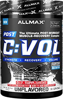 ALLMAX Nutrition CVOL, Post-Workout Muscle-Recovery Complex, Unflavored, 375g