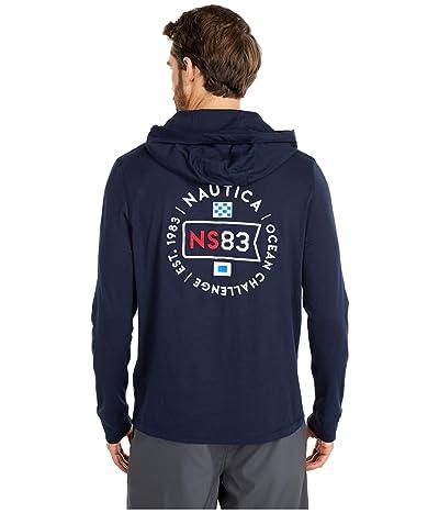 Nautica Hooded T-Shirt (Blue) Men