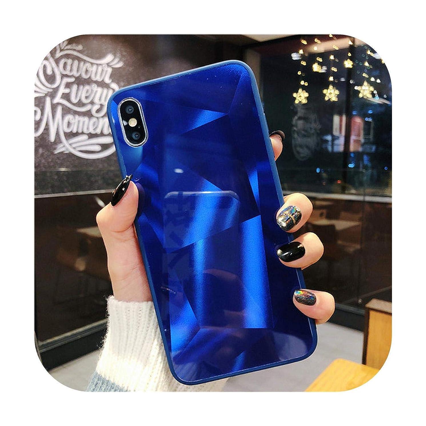 結晶スチール糞3DダイヤモンドプリズムホログラフィックレーザーケースiPhone 6 6 s 7 8plusXs Max XR X 11 11Pro Max光沢クリスタルソフトエッジカバーFunda-2-For iphone 11 Pro