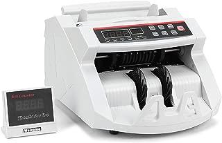 Buoqua - Contador de billetes profesional con pantalla LED y detector de billetes falsos, color Contabanconote