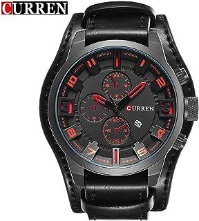 b59919386d70b MachinYesell Curren Montre pour Homme d'affaires décontractée à Quartz avec  Bracelet Multifonctions pour Hommes