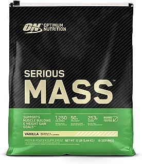 Optimum Nutrition Serious Mass, Vanilla, 12lbs