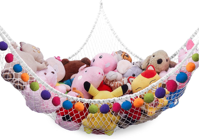 CanJoo Stuffed Animal Net M Ranking TOP17 Wall Limited price Hammock Hanging