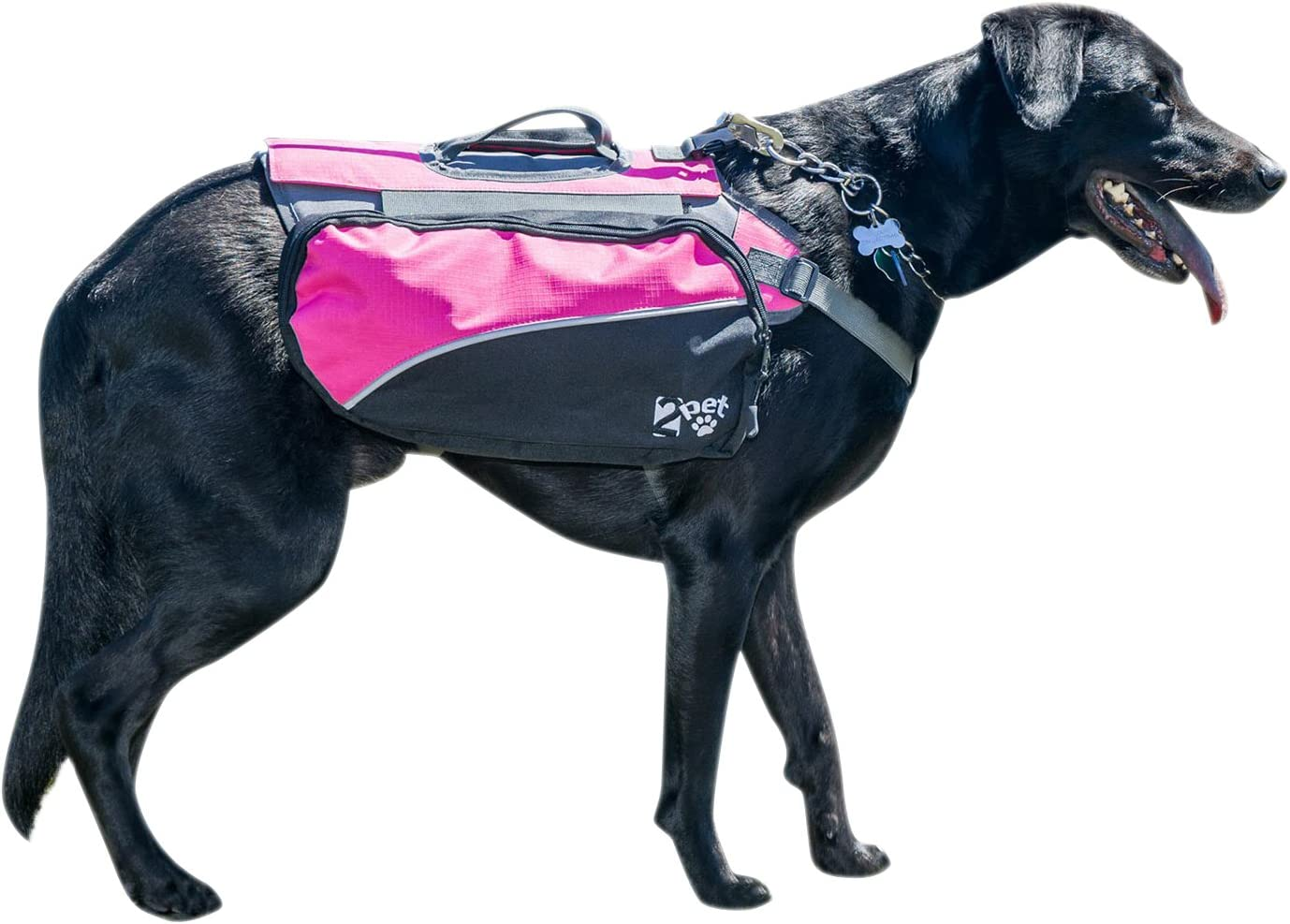 2PET Dog Backpack for Hiking Saddlebag Compact Dogs Max 41% OFF Cheap mail order specialty store Adju