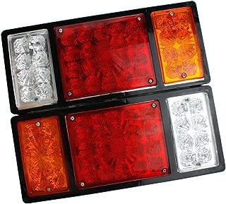 36 LED Stop Rear Tail Indicator Reverse Lamp Trailer Truck 12v New 2pcs