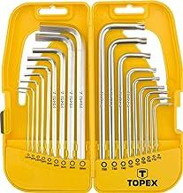 juego de 11 uds TOPEX 38D650 Llaves de vaso 1//4