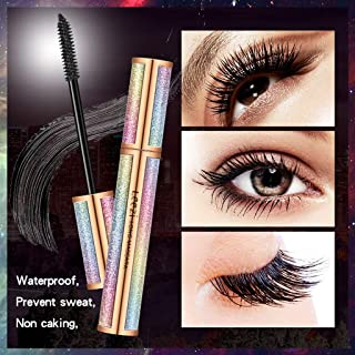 e62b797ffc0 Hohaski Artistic Volume Mascara, 4D Eyelash Mascara Makeup Eyelash  Extension, Sweat proof Long Curling