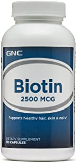 biotin 2500 mcg gnc