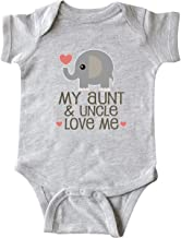 inktastic Aunt and Uncle Love Me Nephew Infant Creeper