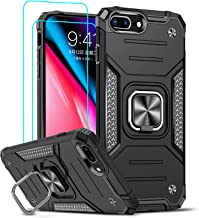 LeYi Compatible with iPhone 8 Plus Case, iPhone 7 Plus Case, iPhone 6 Plus Case with 2 Tempered Glass Screen Protector, [M...