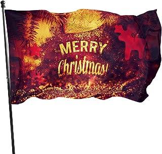 Bandera de la Guardia Americana N/A Bandera del hogar Descargar Merry Christmas por PimpYourScreen para patio vertical para decoración de patio familiar o universitario de 3 x 5 pies