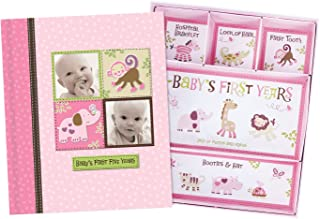baby girl memory book and keepsake box
