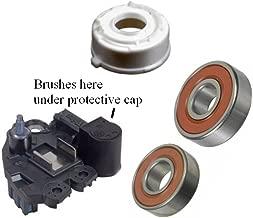 Alternator Rebuild Kit for 2006 BMW 323i 325i 330i 2006-2007 525i 530i (Valeo Ref# TG17C015) Regulator Brushes Bearings - 11260RK
