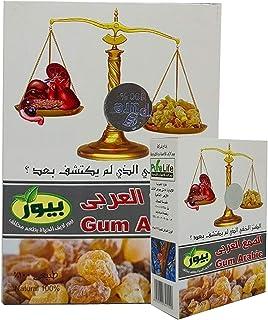 Pure Life 100% Organic & Natural Instant Gum Powder Arabic Hashab Pure Premium Resins Resin Origanum Acacia Arab Dried Sar...