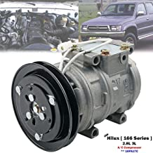 A/C Air Conditioning Compressor 10PA17C Fit For Toyota Hilux 2.8 3L Diesel 1998-2004