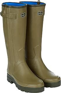 Le Chameau Men's Chasseur Neoprene Lined Boots Vert Vierzon Green