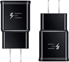 Pantom [2-Pack] Adaptive Fast Charging Rapid Quick Charge Wall Charger Compatible with Samsung Galaxy S10/S10+/S9/S9+/S8/S8+ Note 8/Note 9 & Other Smartphones/Devices [Black]