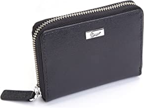 royce leather rfid-blocking fan wallet