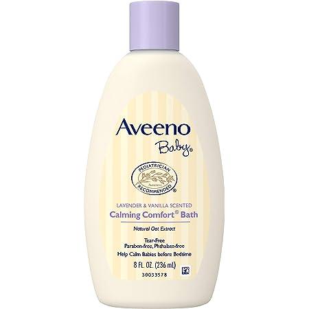 Aveeno Baby Calming Comfort Bath Lavender and Vanilla -- 8 fl oz