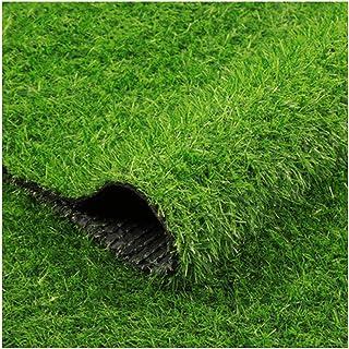 YNFNGX 25mm Pile Height Artificial Grass, Natural Realistic Outdoor Garden Dog Pet Synthetic Grass Carpet Door Mat Rubber ...