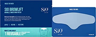 SiO Beauty For Him BrowLift | Forehead Anti-Wrinkle Patch | Overnight Smoothing Silicone Patches For Forehead Furrows, Expression Lines And Creases