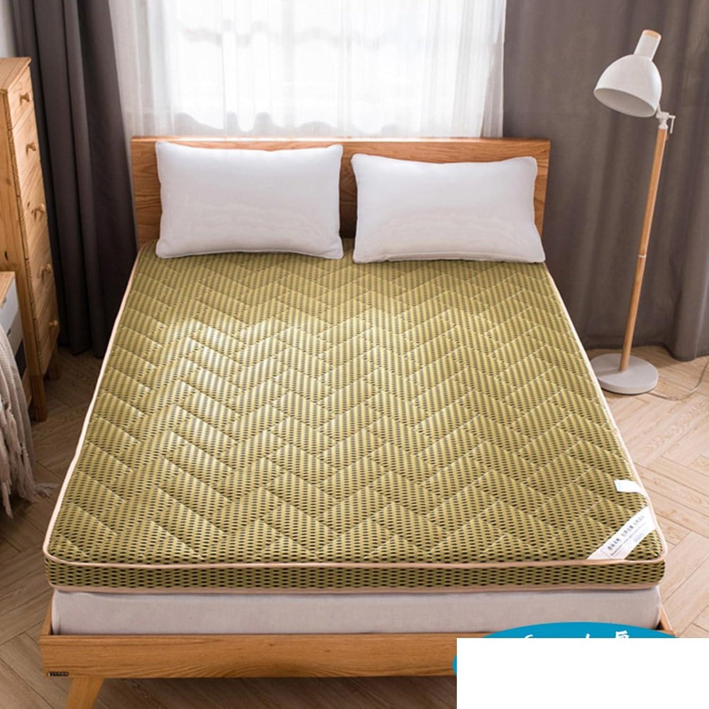 Mattress tatami mattress padded mattress single student dormitory mat ground floor sleeping pad-N 150200cm(59x79inch)