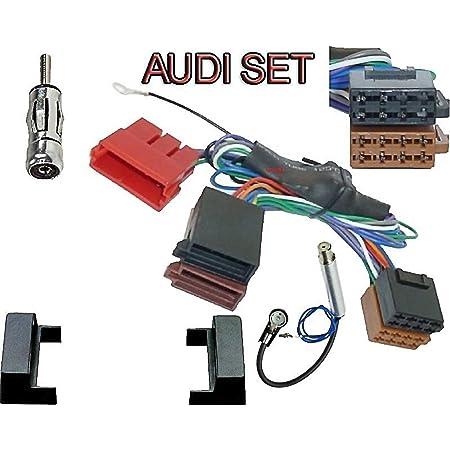 Radioblende Set Für Audi A4 B5 8d Aktivsystemadapter Elektronik