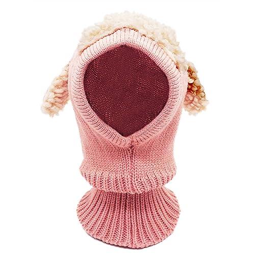 92abce6df9e Bienvenu Baby Girls Boys Winter Hat Scarf Earflap Hood Scarves Skull Caps