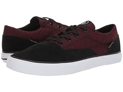 Volcom Draw Lo Suede Shoes (Port) Men