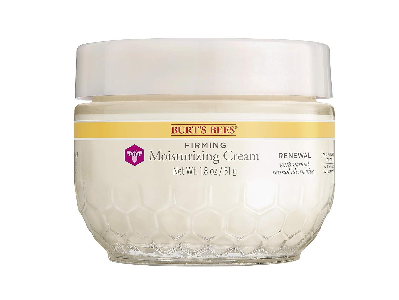 Burt's Bees Renewal Firming Max 53% OFF Moisturizing New mail order Bakuchiol Cream with Na