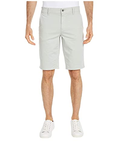 BOSS Hugo Boss Regular Fit Satin Stretch Shorts (Silver) Men