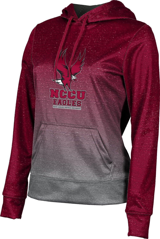 North Carolina Central University Girls' Pullover Hoodie, School Spirit Sweatshirt (Ombre)