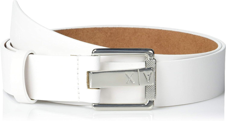 AX Armani Exchange Logo Women's 市販 Belt 出色