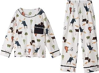 Pijama Pijamas de algodón femenino Panda Panda Impresión de otoño e invierno Casa de invierno for mujer niña pijamas ropa de hogar mujer pijamas grande tamaño xxxl Conjuntos de pijamas pequeños para m