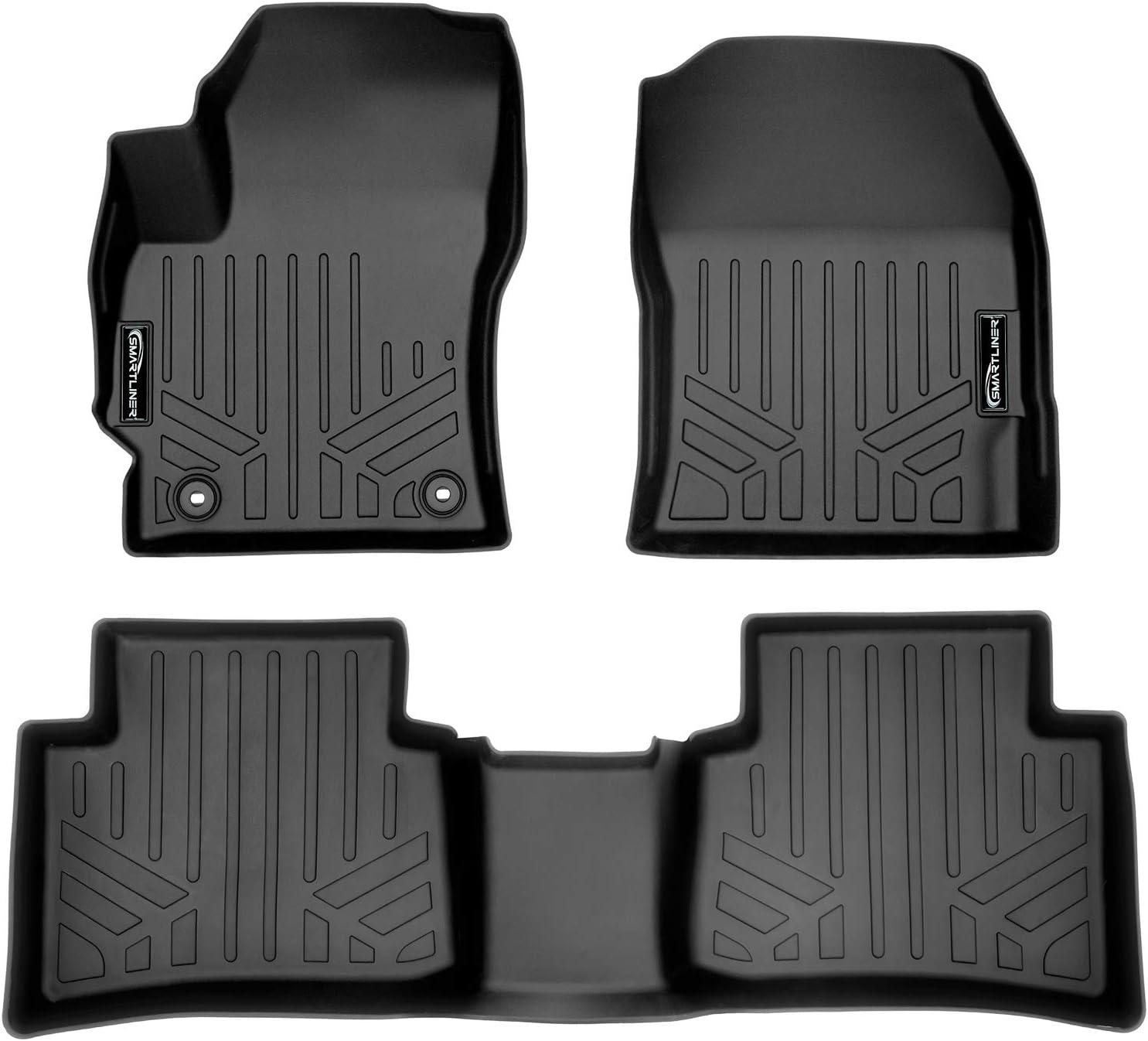 SMARTLINER Cash special price Custom Fit Floor Mats 2 for Black Row 2020- Liner supreme Set