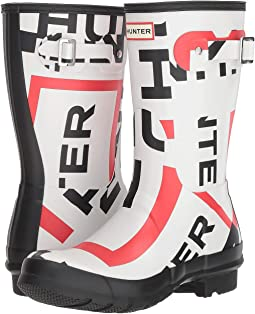 Original Short Exploded Logo Rain Boots