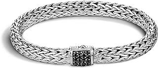 Women's Classic Chain 7.5mm Silver Bracelet
