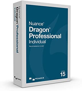 Dragon Professional Individual 15, French, Dictate Documents and Control your PC – all by Voice, [PC Disc]