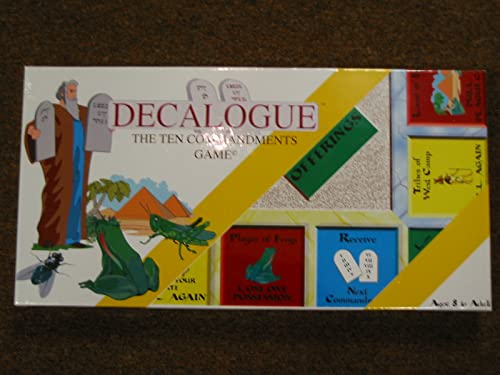 Decalogue-The Ten Commandments Game