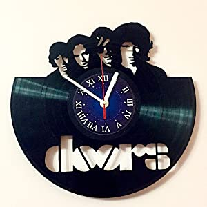 The Doors - Rock Band - Vinyl Record Wall Clock Rock Music Band Decor Unique Gift Ideas for Friends My Store