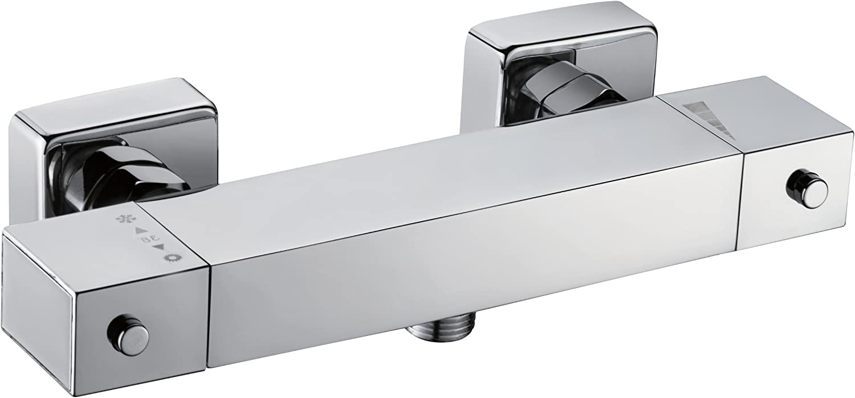 Sanimar Padova 199509 Thermostatic Shower Tap NU Chrome