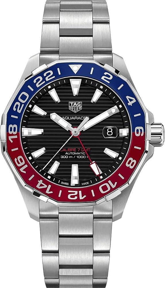 Tag heuer aquaracer orologio in lega di acciaio WAY201F.BA0927