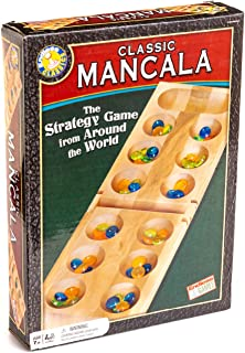 Endless Games Mancala Board Game - Classic Strategy Game for Family and Friends Ages 7 Years and Up (6030)