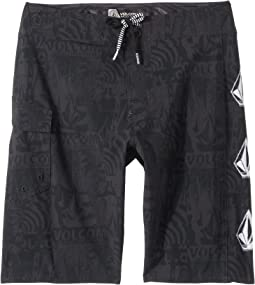 Deadly Stones Mod Boardshorts (Big Kids)